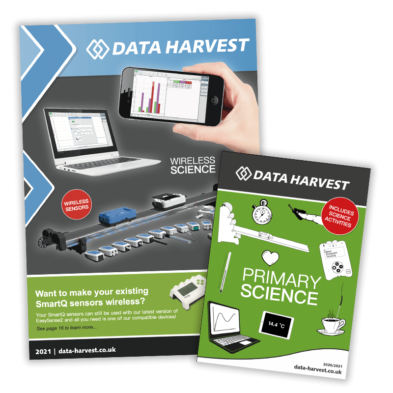 data harvest brochures